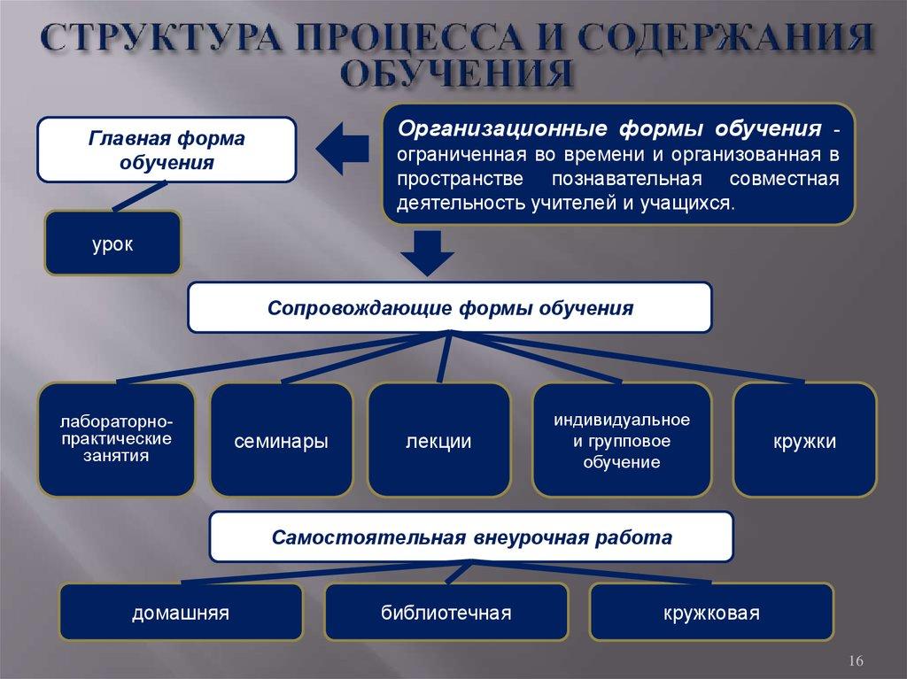Основные Виды Обучения Шпаргалка