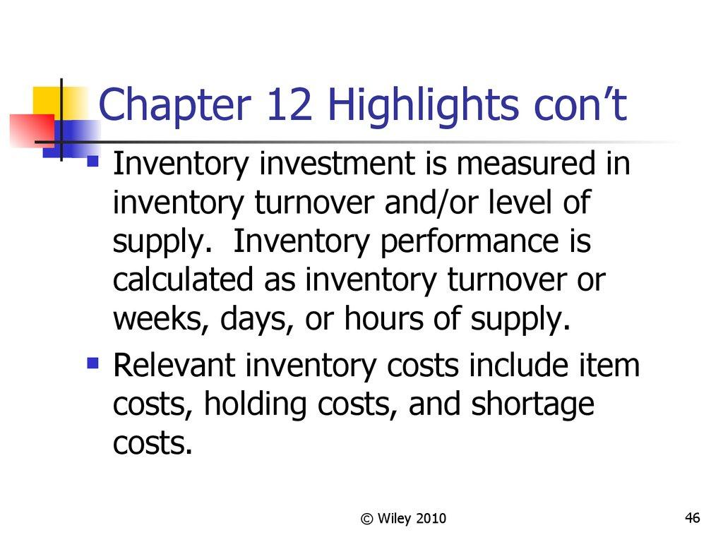 Independent demand inventory management - презентация онлайн