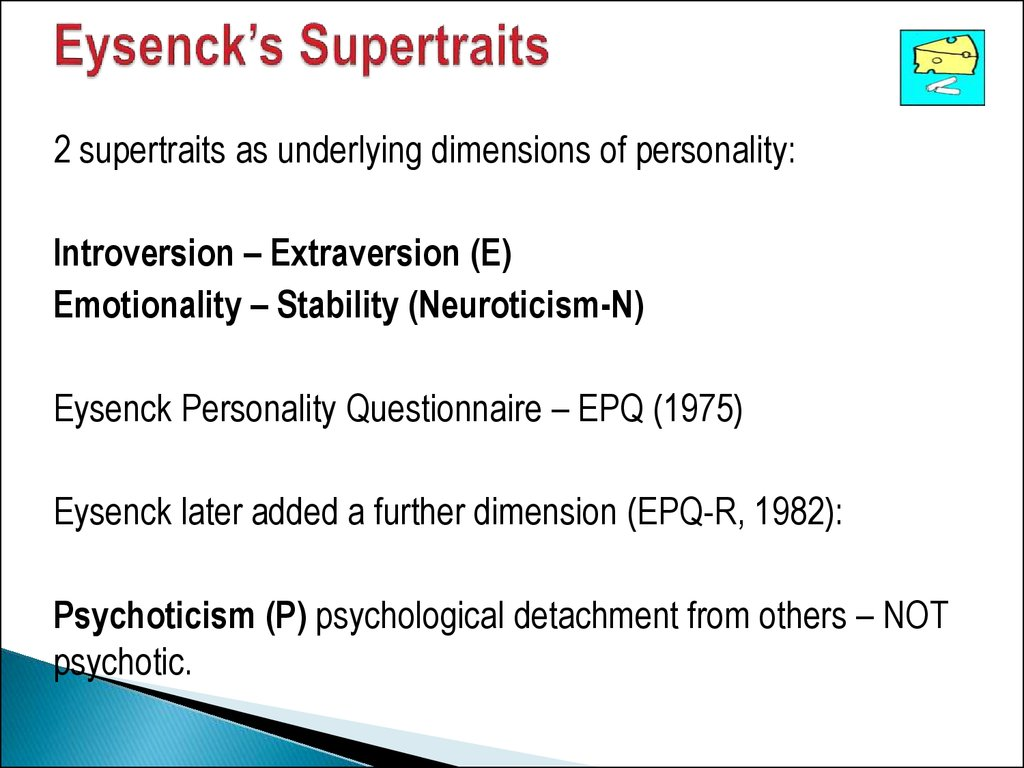 link between smoking and eysencks personality dimensions 08:43 20 march 2007 personality and smoking status: a meta-analysis eysenck's personality dimensions and smoking between personality and smoking.