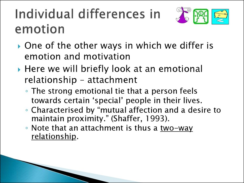 Individual differences in emotion