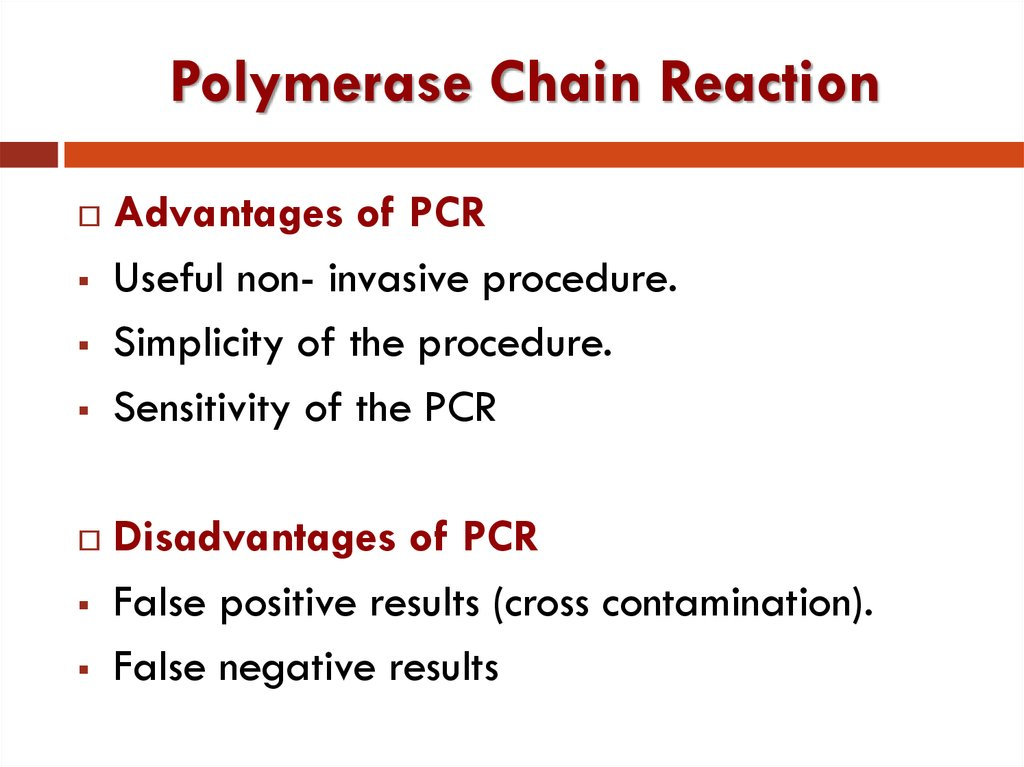 Polymerase chain reaction - презентация онлайн
