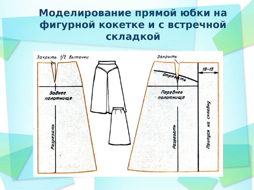 моделирование юбок на основе прямой фото изготовление каждый год