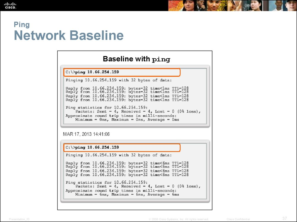 Ping Network Baseline