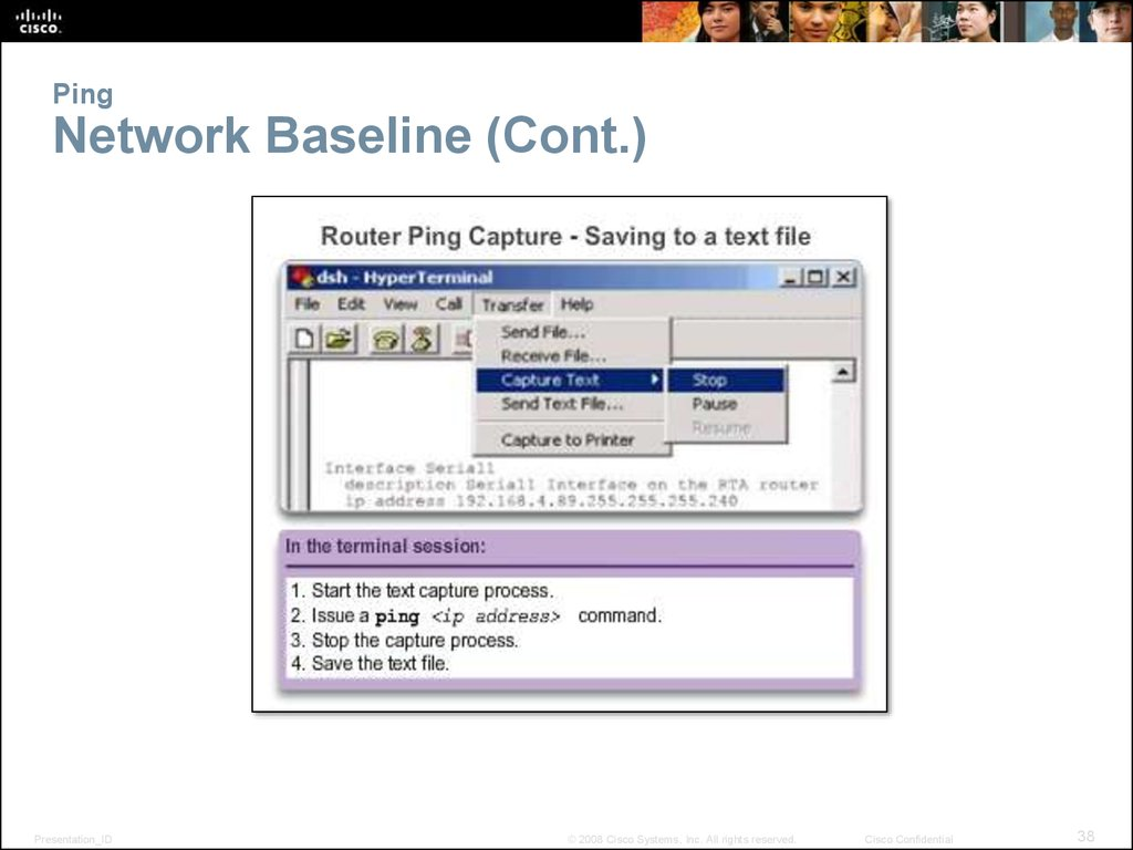 Ping Network Baseline (Cont.)