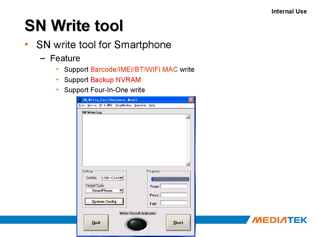 Android Tool and Production Line Solution - презентация онлайн