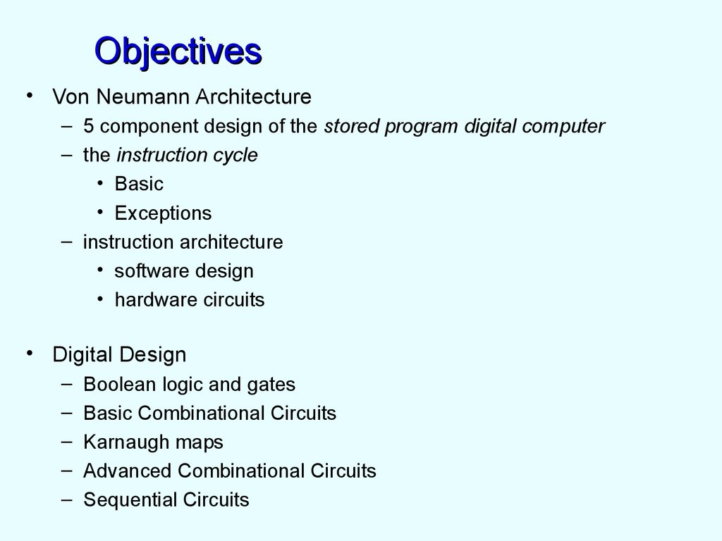 Digital Design And Computer Architecture Introdution Online Circuits 6 Objectives