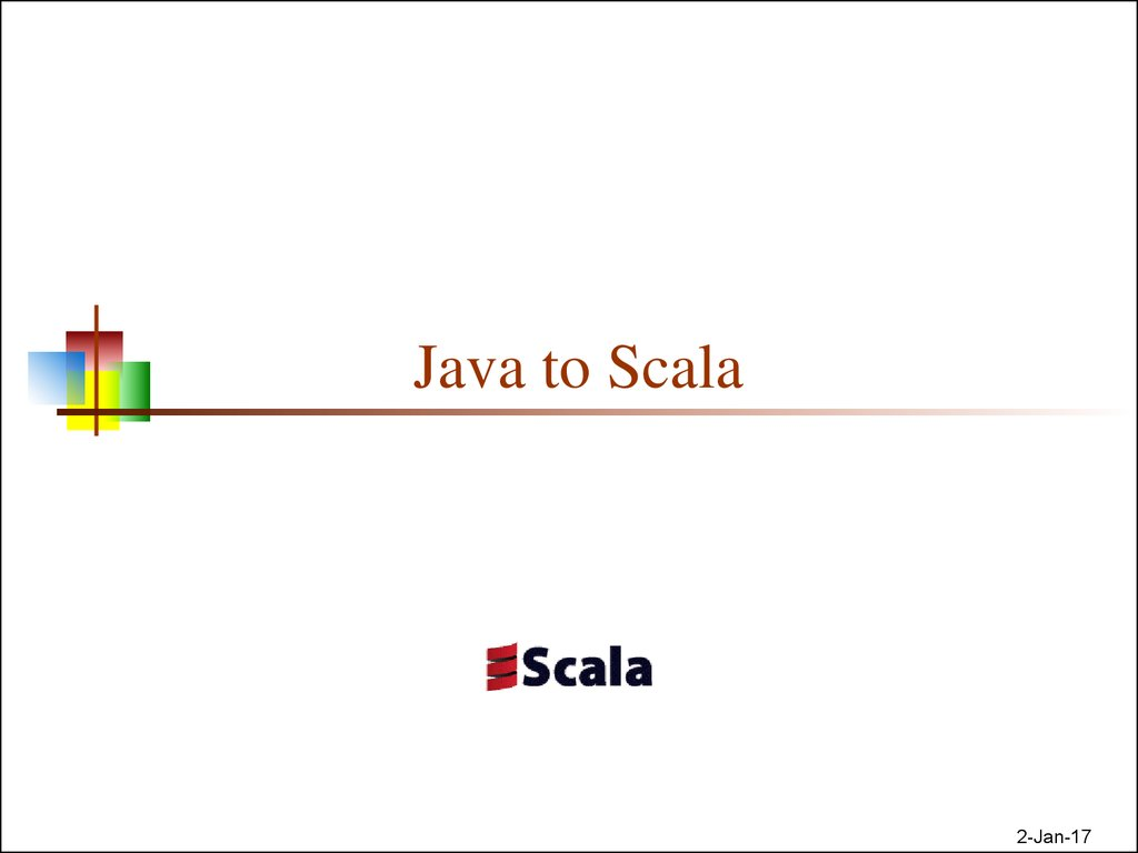 Java to Scala