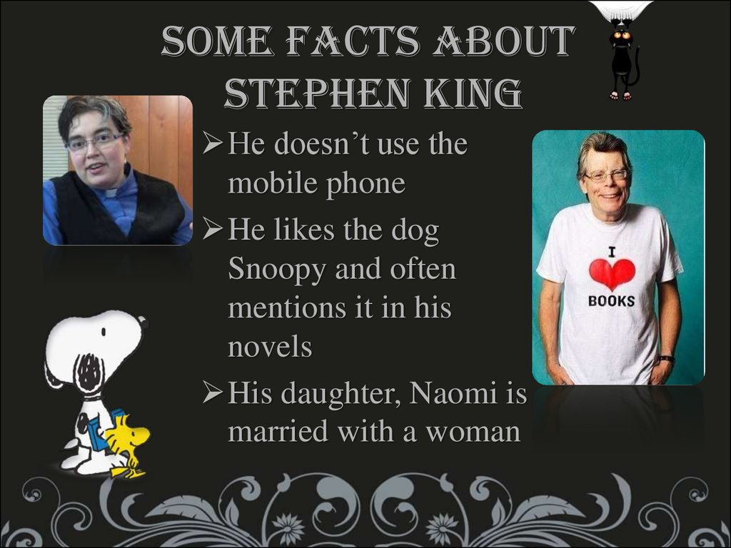 Some facts about Stephen King