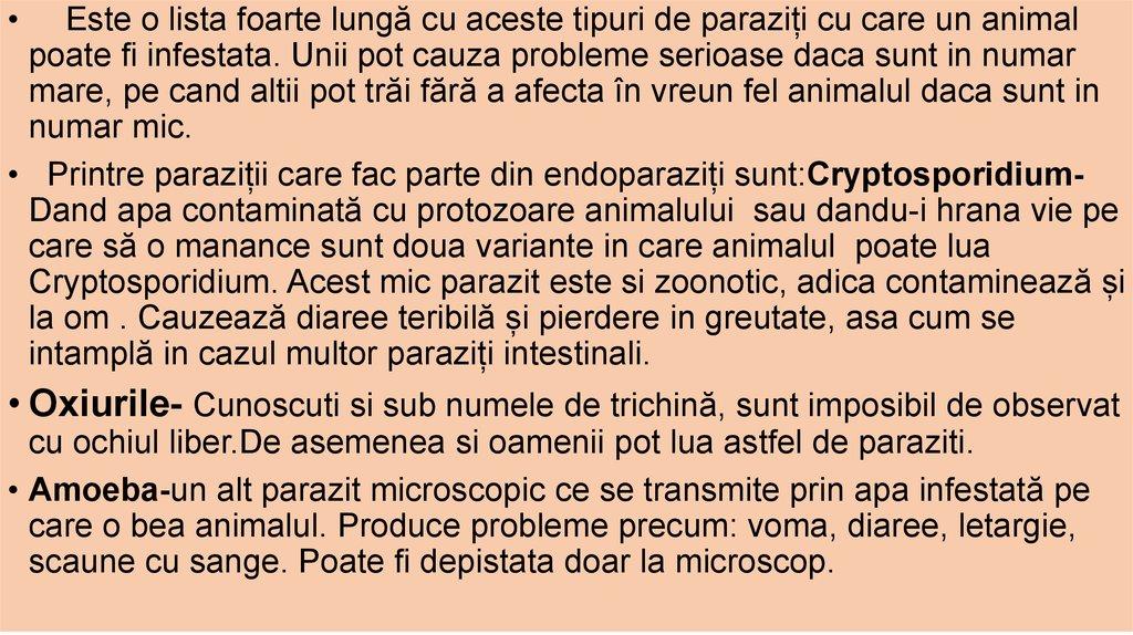 Parazitozele intestinale: giardioza si ascaridioza   etigararunway.ro