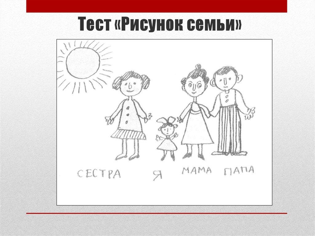 картинки к тесту моя семья возможно, когда