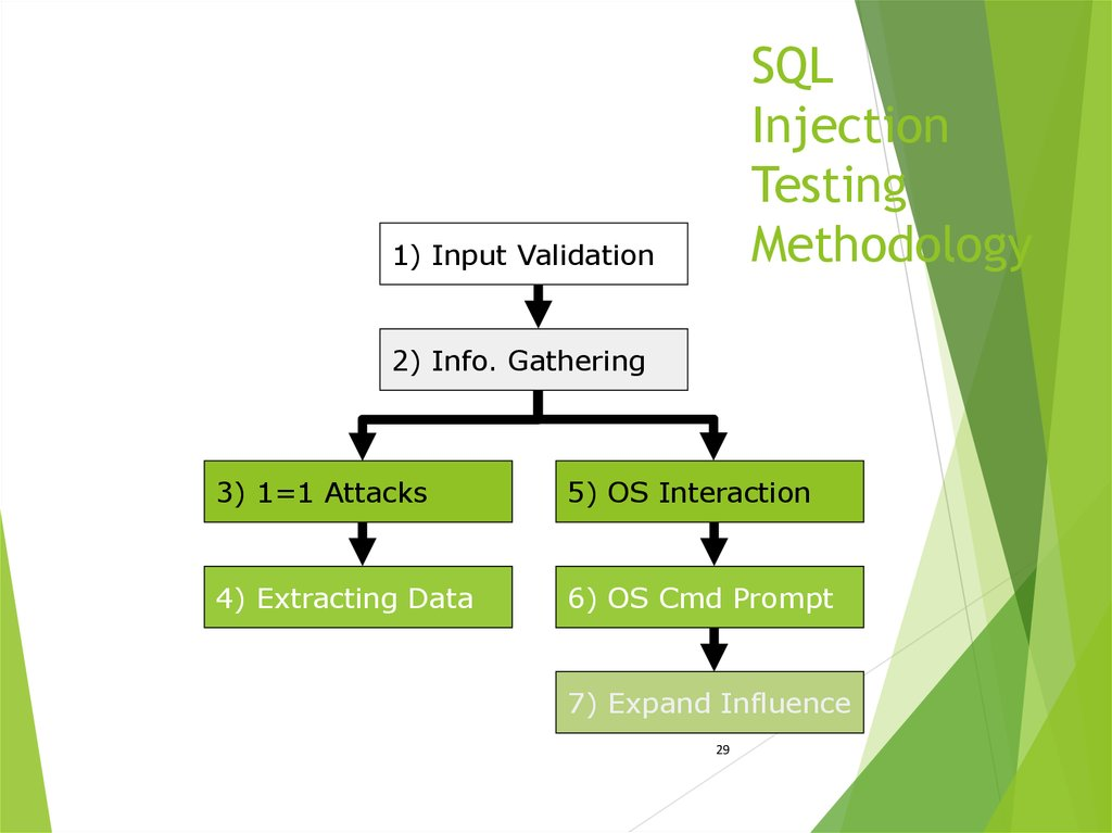 SQL Injection Testing Methodology