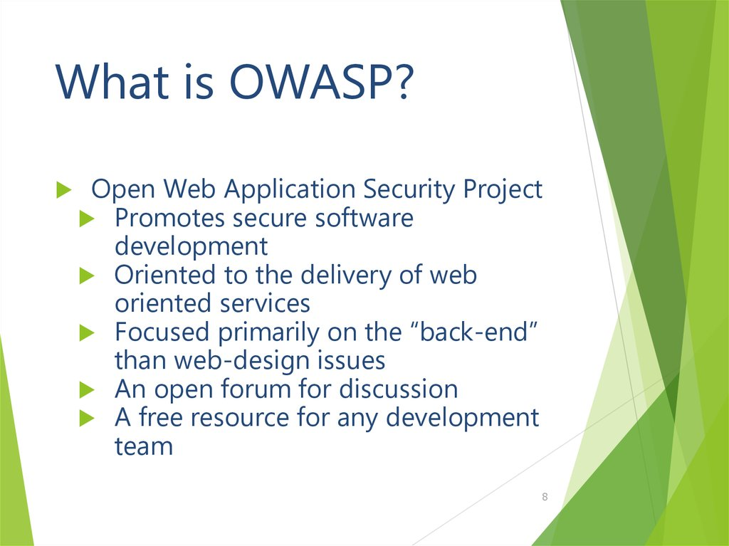 What is OWASP?