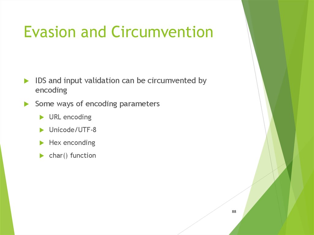 Evasion and Circumvention