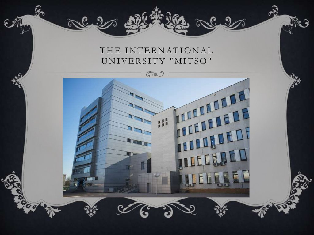 "The International University ""mitso"""