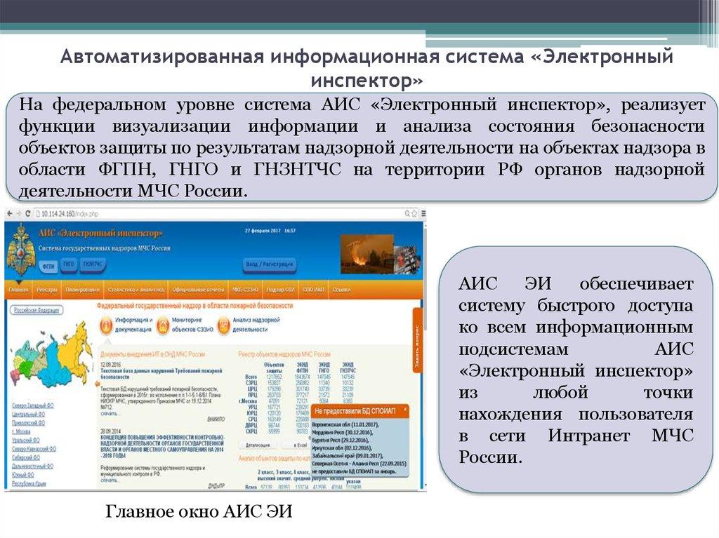 Информационные системы МЧС России презентация онлайн 9