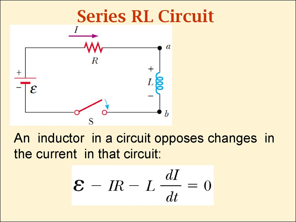 Series RL Circuit