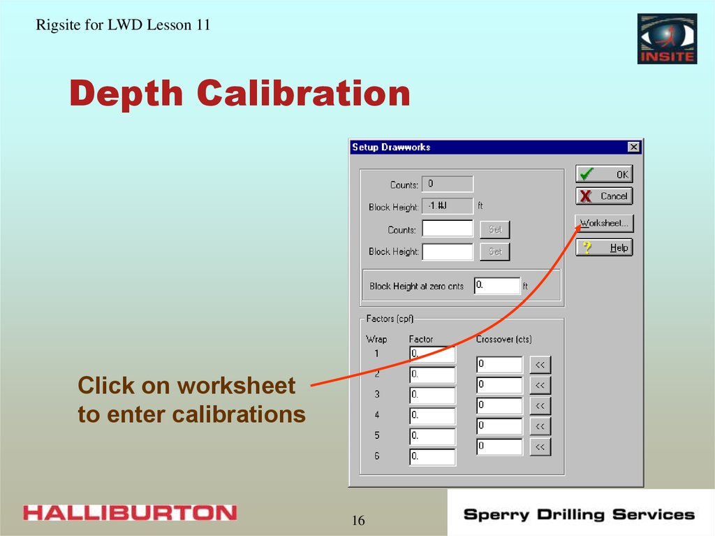 Depth Calibration