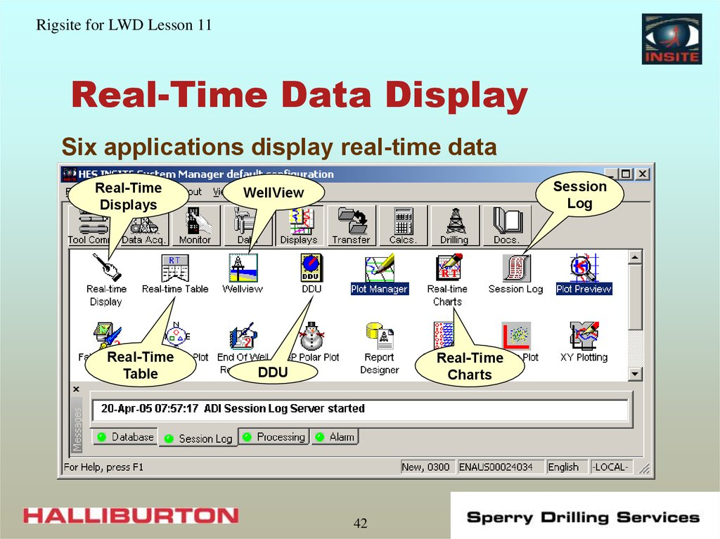 Real-Time Data Display