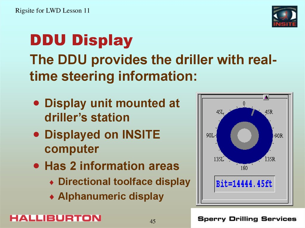 DDU Display