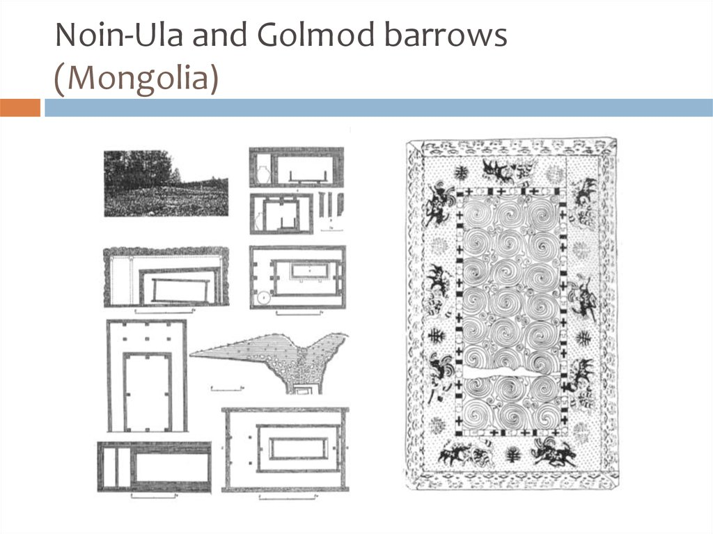 Noin-Ula and Golmod barrows (Mongolia)