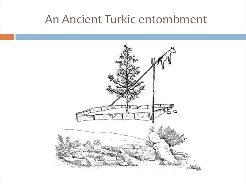 An Ancient Turkic entombment