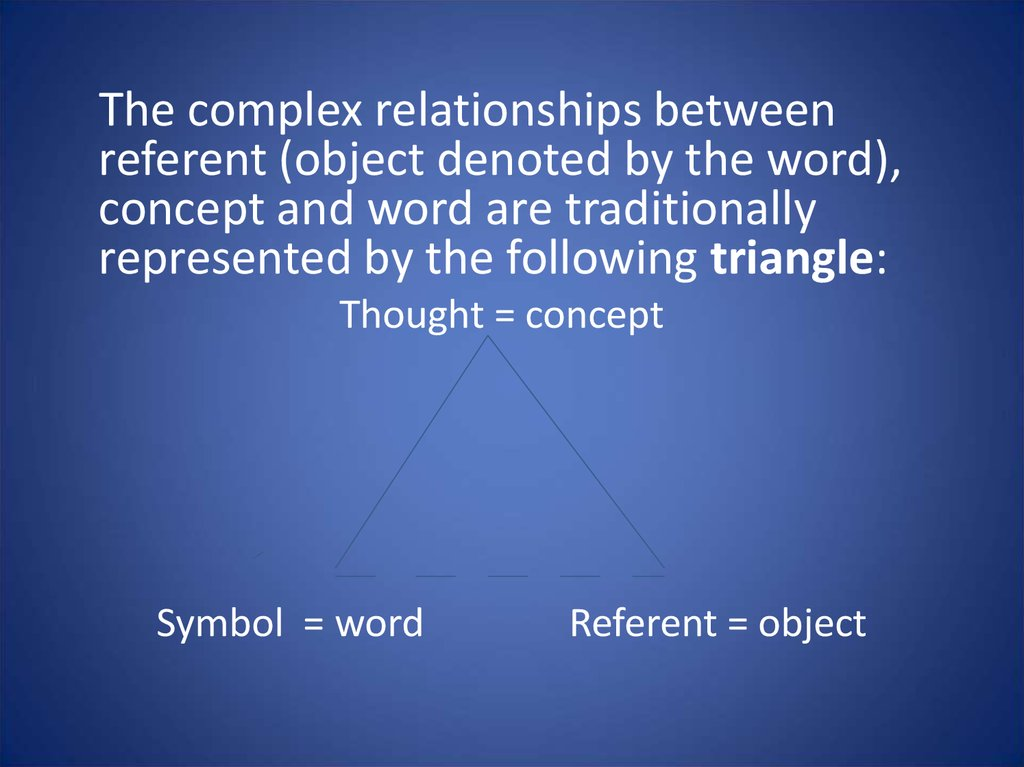 Semantic Structure Of The Word And Its Changes Lecture 3 Online