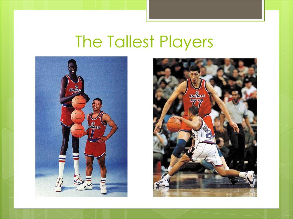 The Tallest Players