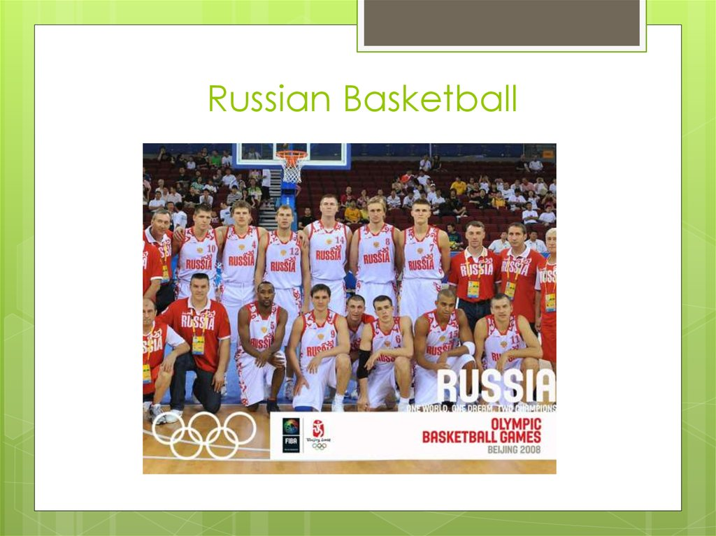 Russian Basketball