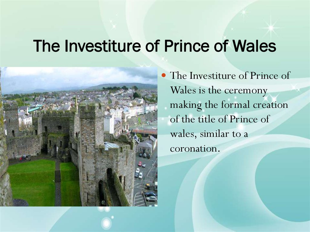 The Investiture of Prince of Wales