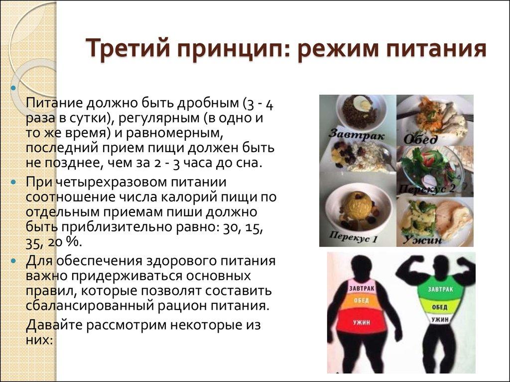 Главные Принципы Правильного Похудения. 10 принципов правильного питания для снижения веса + Меню на неделю