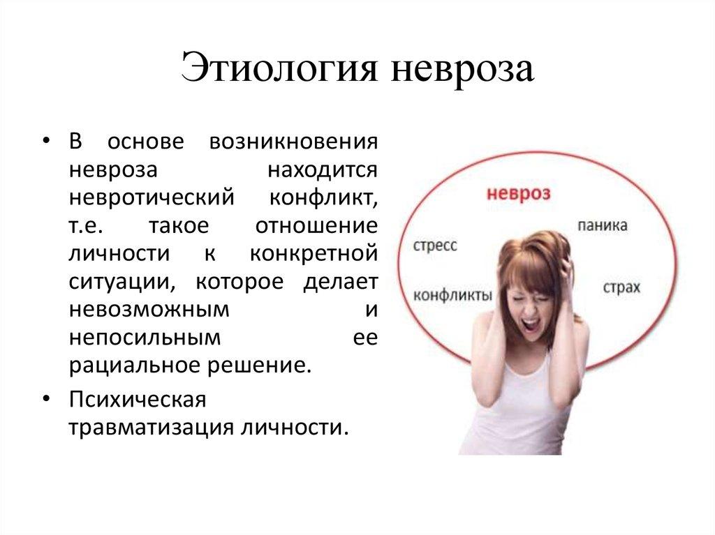 Симптомы сексуальных неврозов