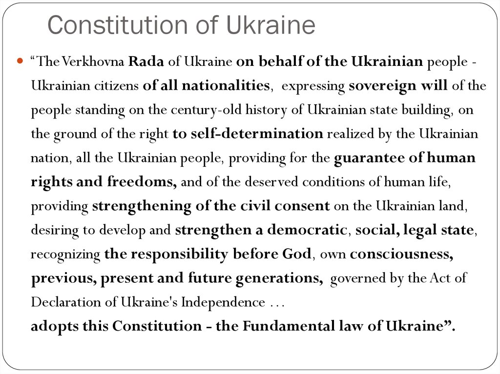 Constitution of Ukraine