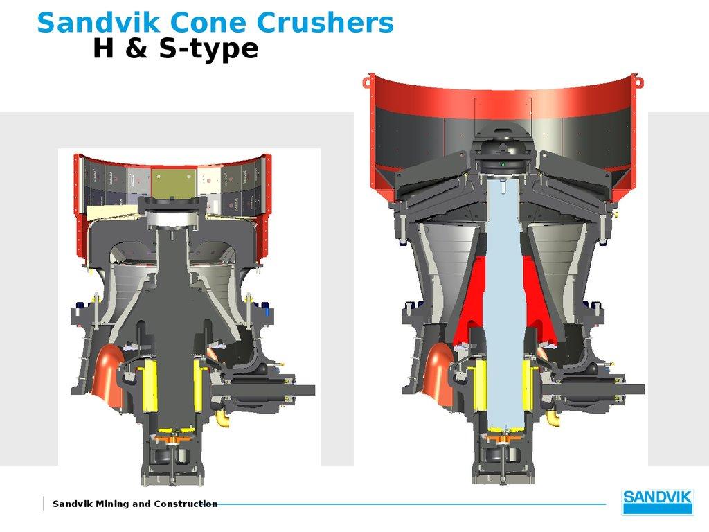 Sandvik Cone crushers - online presentation