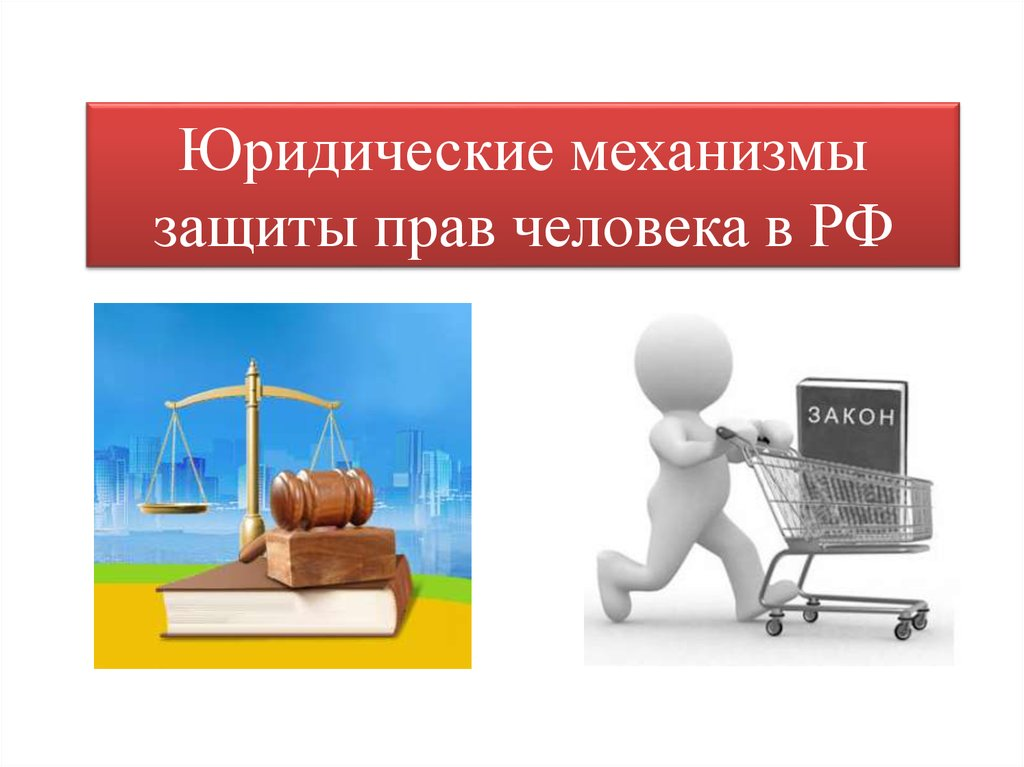 Юридические механизмы защиты прав человека в РФ ... Права Человека И Гражданина