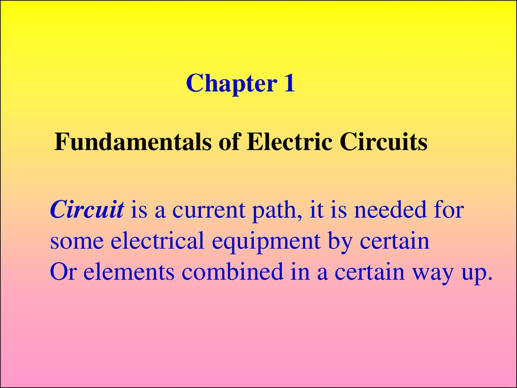 Industrial Electronics Fundamentals Of Electric Circuits Online Electriccircuit2jpg 2 Chapter 1