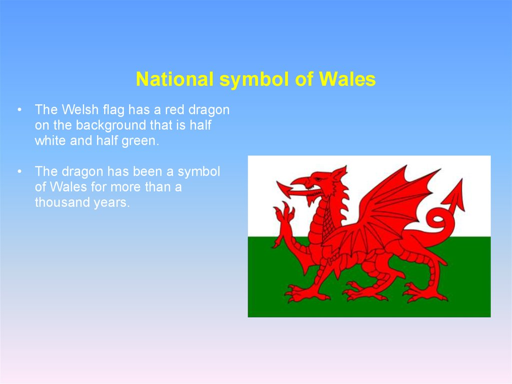 National symbol of Wales