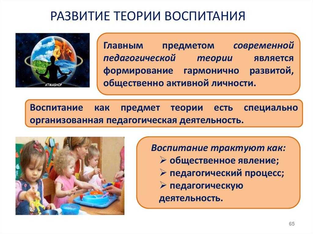 Теория обучения и воспитания картинки