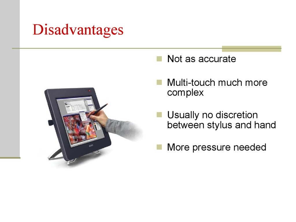 Touchscreen Implementation For Multi Touch Online Presentation Screen Technology Working 8 Disadvantages