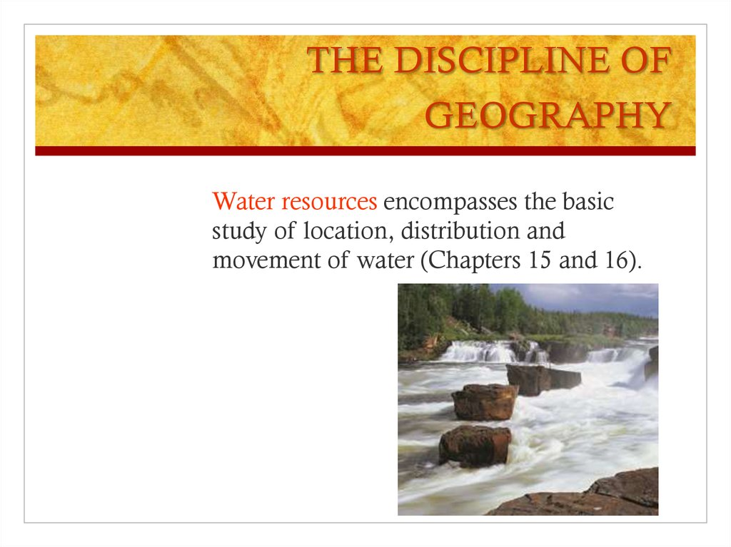 the discipline of human geography The field of geography is a vast and wondrous academic field with thousands of researchers working in dozens of interesting sub-disciplines or branches of geography there is a branch of geography for just about any subject on earth in an effort to acquaint the reader with the diversity of the.