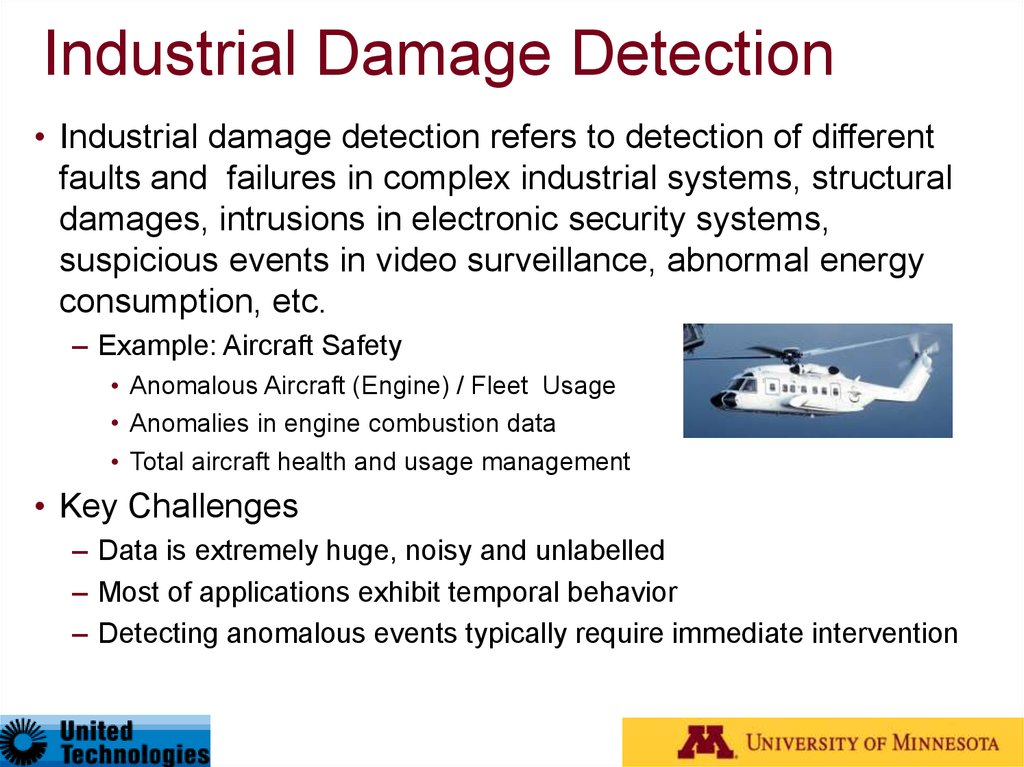 Industrial Damage Detection