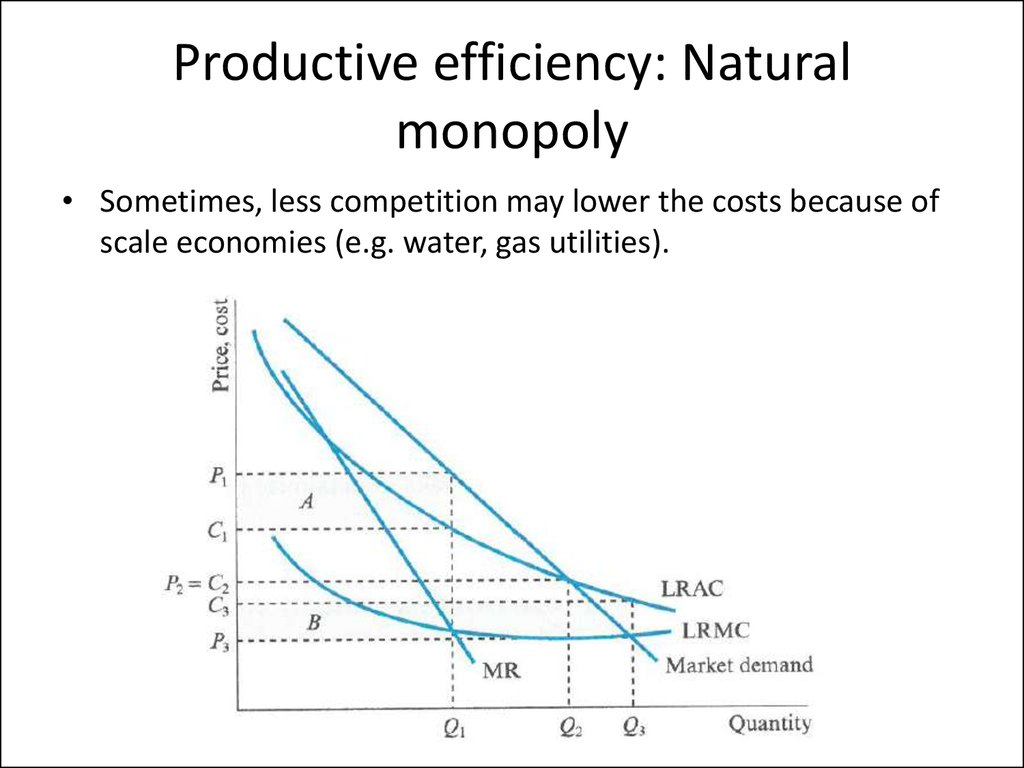 the in efficiency of monopoly essay Free essay: monopoly refers to a market structure whereby there is only a single firm operating in an economy in markets that have one firm controlling the.