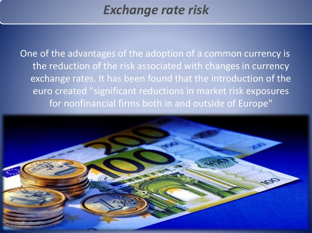 exchange rate risk thesis Read this essay on 3) what can a firm do to manage the exchange rate risk of foreign currency borrowing come browse our large digital warehouse of free sample essays.