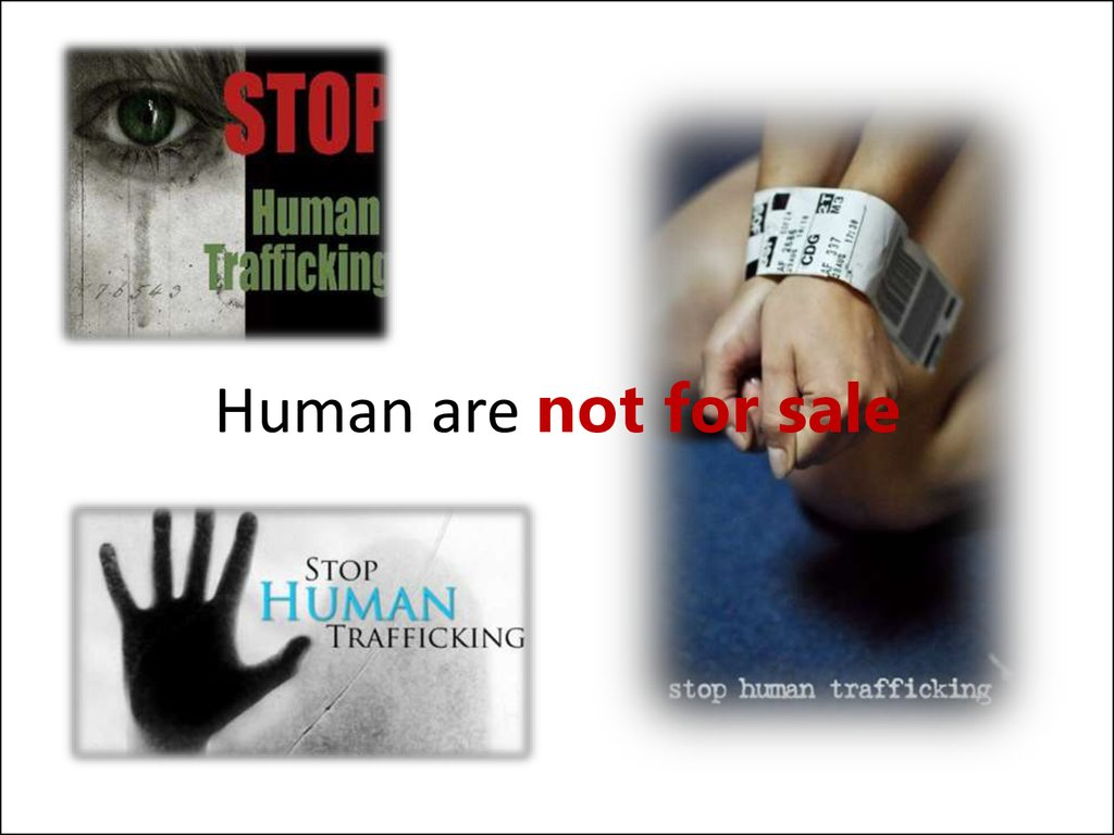 Human are not for sale