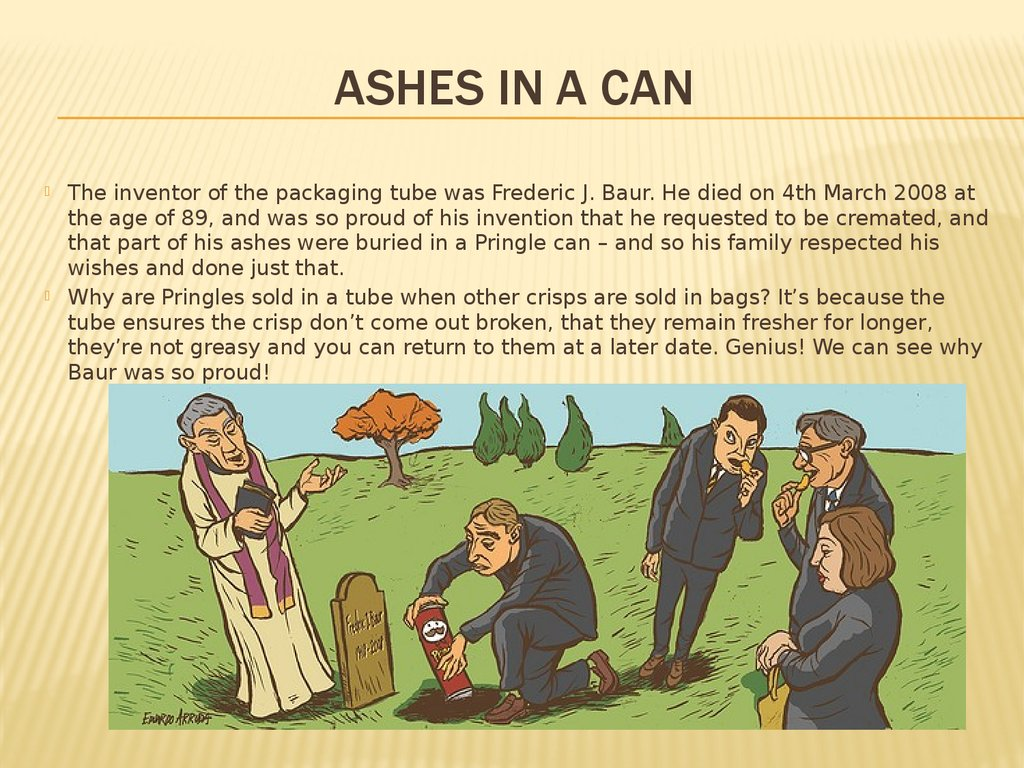 Ashes in a Can