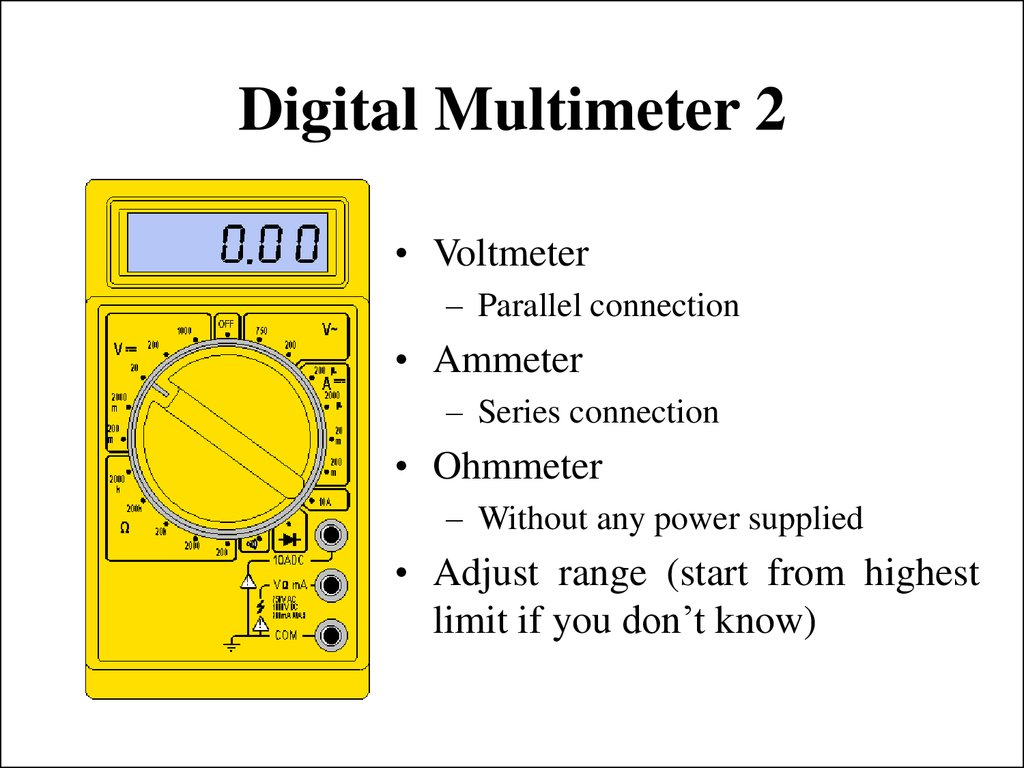 Digital Multimeter 2