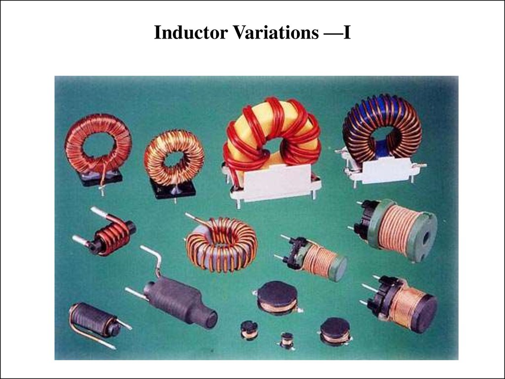 Inductor Variations —I