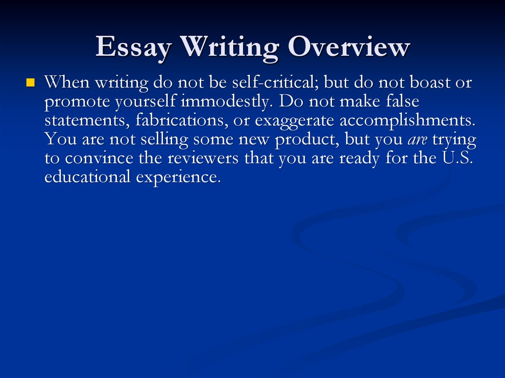 when writing an essay about yourself what do you write In a nut shell when you are faced with the task of essay writing, you should create the correct atmosphere by writing about something that matters to you in fact, you should put yourself in the readers' place by making the events in the story real.