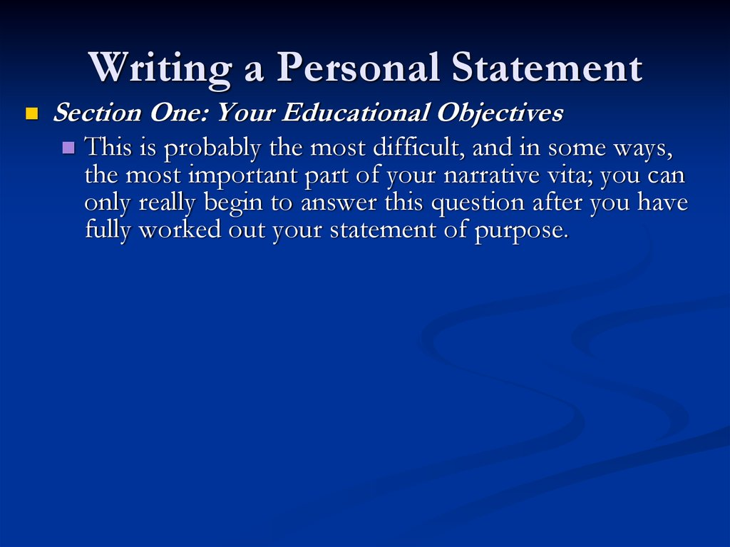 301 personal statement Banking and finance personal statement extensive international travel has influenced my life from a very young age providing me with the opportunity to observe the stark economic contrasts between.
