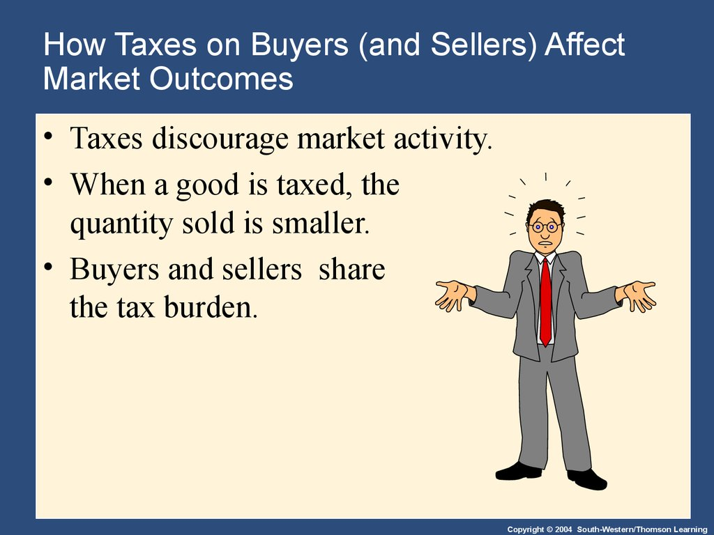 How Taxes on Buyers (and Sellers) Affect Market Outcomes