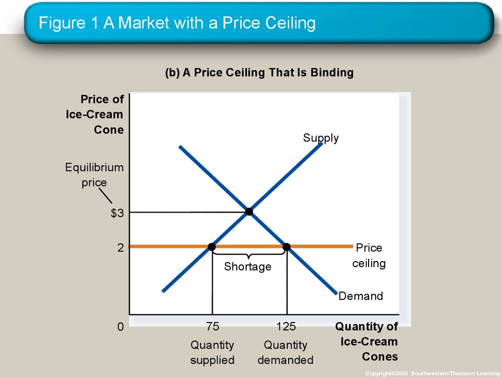 Figure 1 A Market with a Price Ceiling